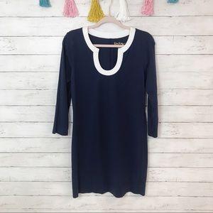 Lilly Pulitzer Navy Blue Marlina T-Shirt Dress
